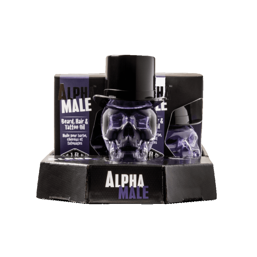 Alpha Male Hair & Beard Oil by GIBS
